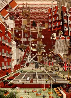 mastering in architecture at the bartlett school of architecture, eric wong develops 'cohesion' -- a project that explores a new urban model for the UK.