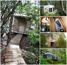 @Huon Valley Escapes  has three quite different #Glamping #experiences that combine #nature, #adventure, simple accommodation and #comfort. Experience #Tasmania's #wilderness and #wildlife first-hand. #Travel #Australia #Tipi #Cabin