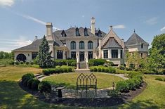 french mansions | Mansions & More: Elegant French-Style Mansion in Doylestown ...