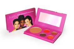 Official site of IMAN Cosmetics premiere line for Women with Skin of Color. Shop makeup & skincare and browse professional tips, how-tos, looks, and more. Candy Colors, Lip Colors, Iman Cosmetics, Makeup Kit, Bronzer, Make Up, Skin Care, Face, Sweet