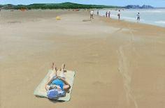 Painting by Jan DeVliegher Landscape Art, Belgium, Beach Mat, Outdoor Blanket, Artist, Painting, Shop Signs, Artists, Painting Art