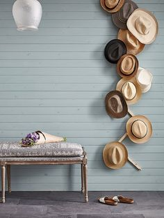 Ideas for Hanging & Displaying Hats | Apartment Therapy