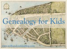 "Genealogy for Kids from @Amy_Sue - ""A family castle?"" Bringing history alive. Interested in this because I want to have a workshop on this but don't know how to let kids know the different 'versions' of a family.  So many live such different lives without the 'Blood Mother & Father'."