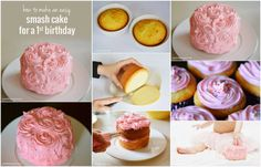 Make a Smash Cake for a Frst Birthday