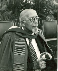"""In 1961, at the age of ninety-three, Dr. William E. B. Du Bois accepted an invitation from Ghanaian President Kwame Nkrumah to be the editor of the Encyclopedia Africana project. In the final months of his life, Dr. Du Bois renounced his American citizenship and become a citizen of Ghana. He died on August 27, 1963, the eve of the March on Washington."""" """"W.E.B. Du Bois receives an honorary degree from the University of Ghana, University of Massachusetts, Du Bois: The Activist Life"""" umass.edu"""