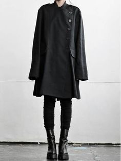 WOMEN DESIGNER :: ANN DEMEULEMEESTER :: 15-16 F/W :: ANN DEMEULEMEESTER BLANCHE COAT DEBUT BUIO