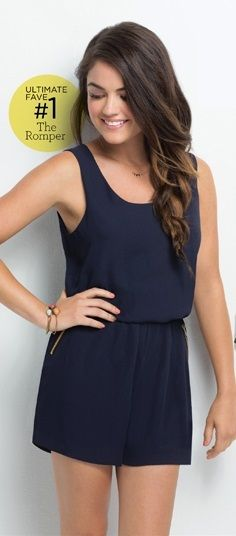 Lucy Hale wearing mark. Easy Does It Romper!  #springfashion #pll @lucyyhale