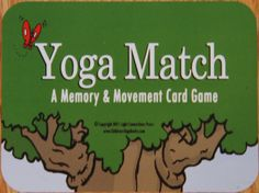 Yoga Match Game Fabulous Fun {Review & Giveaway} - a yoga memory/concentration game - enter to win by repinning/commenting - giveaway closes Aug 31/2012