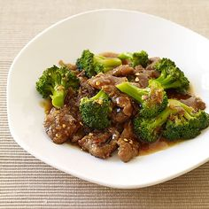 Beef and Broccoli Stir-Fry | Recipes | Weight Watchers