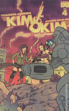 Kim and Kim (2016 Black Mask) 4Black mask Comics Modern Age comic book covers blackmask publishing rappers red mad method man