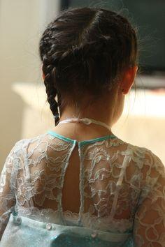"Princess ""Elsa"" dress (back)"
