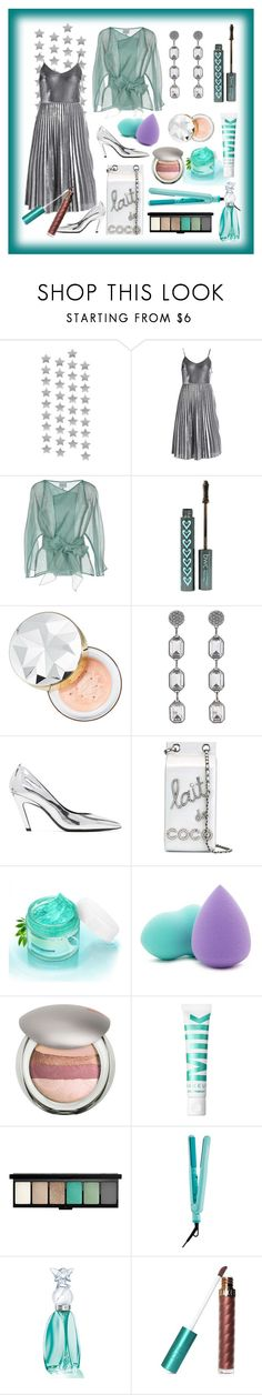 """""""giant party: take me to the dance floor"""" by kanares ❤ liked on Polyvore featuring Armani Collezioni, Sephora Collection, Marc Jacobs, Balenciaga, Chanel, Forever 21, Pupa, John Lewis, Izutech and Anna Sui"""