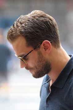 Jamie Dornan beautiful profile