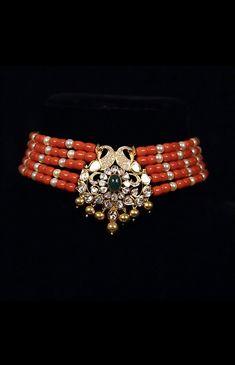 Gold Chain Design, Gold Jewellery Design, Bead Jewellery, Gold Jewelry, Beaded Jewelry, Pearl Necklace Designs, Gold Earrings Designs, Bridal Jewellery Inspiration, Bridal Jewelry