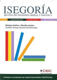 ISEGORÍA REVISTA DE FILOSOFÍA MORAL Y POLÍTICA