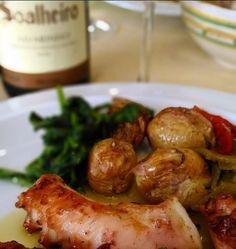 Polvo… Octopus… A Taberna – Coimbra #Soalheiro #Portugal