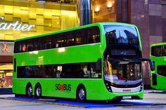 SÉRGIO JOSÉ- ÔNIBUS ALAGOAS: Singapura apresenta um novo conceito de ônibus de ...