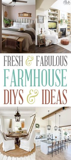 Fabulous and Fresh Farmhouse DIYS and Ideas are waiting to inspire you to create. Hi Friends, how is everyone doing! Hope you have an AMAZING Weekend!!! Well… here we are … back together again to check out some Fabulous and Fresh Farmhouse DIYS and Ideas for this week! A little diversion that I know you enjoy. There are some cool ideas… some diys and a ton of inspiration! I really love our Saturday afternoon time together and I sure hope you do to