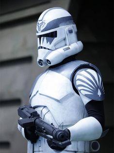 Star Wars Rebels, Star Wars Clone Wars, Director Krennic, Grand Admiral Thrawn, Helmet Armor, Galactic Republic, Pauldron, Wolf, Clone Trooper
