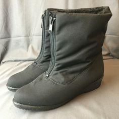 Az Delling Knee High Tall Riding Boots Black Sz 12m Wc