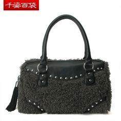 Free Shipping 2013 women's handbag tassel rivet bag handbag shoulder bag l31103 hot. $54.50