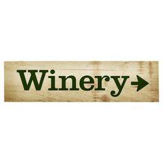 Winery Wall Decor
