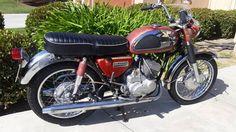 1967 Kawasaki A7 Avenger 350 Two Stroke Rotary Valve
