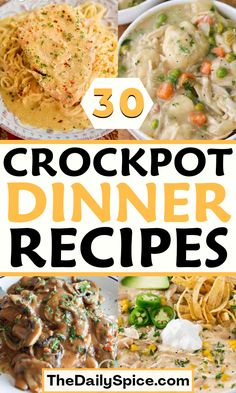 Best Crockpot Recipes, Crockpot Meals, Slow Cooker Recipes, Cooking Recipes, Crock Pots, Crock Pot Cooking, Easy To Make Dinners, Easy Meals, Copycat