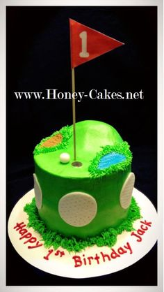 Hopes Sweet Cakes: Golf Cake and Cake Pops  Party ideas  Pinterest ...