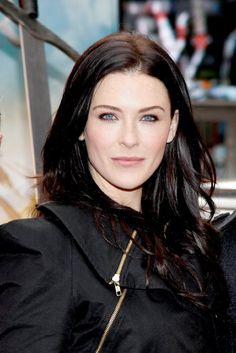 Bridget Regan attends the 'Legend of The Seeker' The Sword of Truth unveiling at Military Island, Times Square