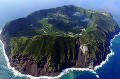 Aogashima in Japan: Dieses Dorf liegt in einem aktiven Vulkan