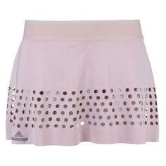 Stella McCartney Grey Barricade Australia Skirt ($51) ❤ liked on Polyvore featuring activewear, activewear skirts, amethyst, adidas sportswear, tennis skirt, adidas, logo sportswear and adidas activewear