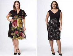 roupas para gordinhas modelos de vestidos