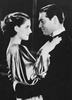 Norma Shearer and Clark Gable in A Free Soul (Clarence Brown, 1931