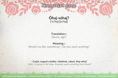 Mini language lesson Hungarian slang – Daily News Hungary Language Lessons, Meant To Be, Daily News, Politics, Learning, Mini, Ancestry, Languages, Proverbs