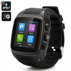 Imacwar Smartphone Clock - IP67 Waterproof Rating, Android 4.2 And Dual Core