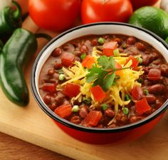 Recipes/Dinner/Chili-with-Green-Salad-and-Guacamole | Zone Diet | Home of Anti-Inflammatory Nutrition