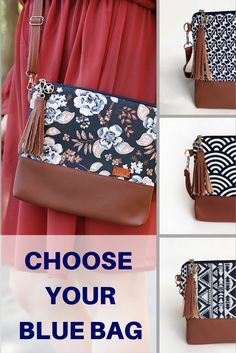 Casual style #purses blue color handmade #bags for your outfit #giftforher #fall #casualstyle #womensoutfit