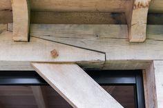 Dubbele houten tuinkamer met berging, Genemuiden. www.bronkhorstbuitenleven.nl
