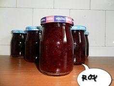 Džem z červeného rybízu - TopRecepty.cz Salsa, Rum, Homemade, Food, Lemon, Catalog, Home Made, Essen, Salsa Music