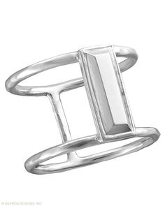 In Vogue Ring - Silpada Designs.  Very Cool!  Fits between the knuckles. All sterling silver, order in any size from 5 to 11. $46.00. To order go to:  mysilpada.com/joyce.lowd