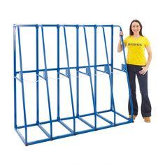 Extendable Vertical Storage Rack