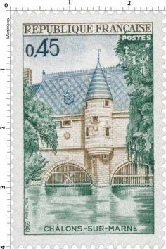 Timbre : CHÂLONS-SUR-MARNE | 1969