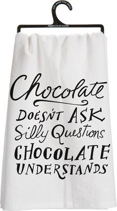 Chocolate understands :)