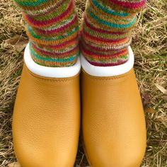 troentorp with knitted socks - Coloring Book Yarns
