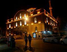Night Zağanos Mehmet Paşa Mosque Balıkesir Turkey Photo:AHikmet Varlik