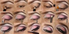 Date Night Pink- Makeup Tutorial @nalbantova  #date #night #girly #romantic #feminine #pretty #pink #prettyinpink #girlygirl #eye #makeup #look #pictorial #howto #tutorial