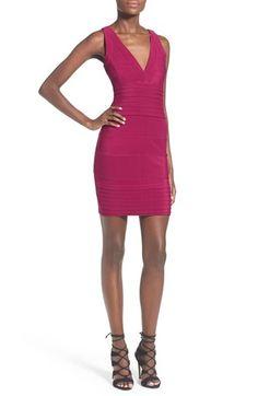 Missguided Paneled Body-Con Minidress