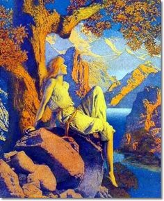 Night is Fled by Maxfield Parrish