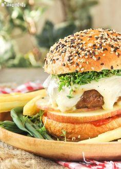 Hamburguesa con manzana | L'Exquisit